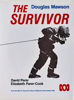 Front cover of Douglas Mawson book